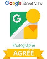 Photographe agréé Street view Trusted